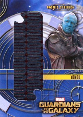 Marvel Guardians of the Galaxy 2014 - CSO7 Yondu Costume Relic Memoribilia Card
