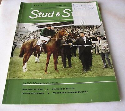 STUD AND STABLE MAGAZINE VOL. 4 No. 8 August 1965 Cover SEA-BIRD
