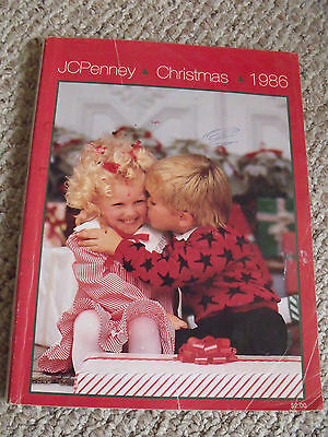 Vtg 1986 JCPenney Penneys Christmas Wish Book Department Store Catalog Toy Book