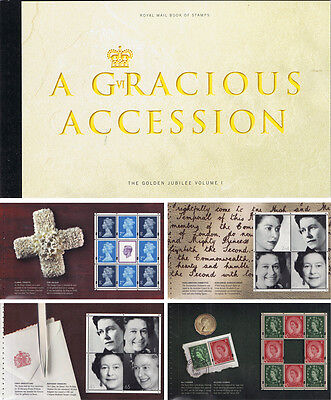 2002 Dx 28 Royal Mail Prestige Book Of Stamps Of A Gracious Accession