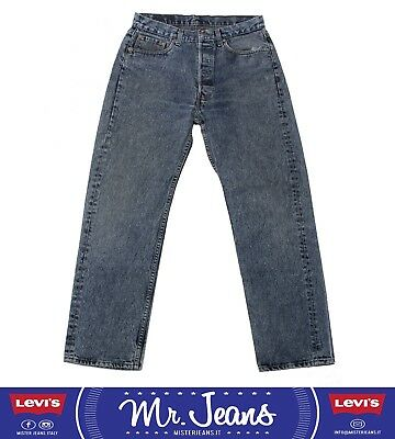levi's 501 W34 jeans vintage levis used usato second hand