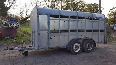 ifor williams tri axle plant trailer 12ft x 6ft delivery available