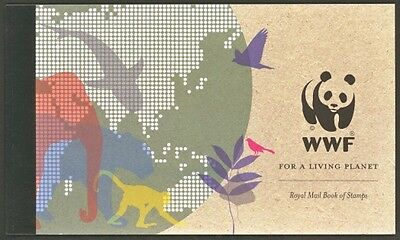 2011 Sg Dx52 Prestige Book Of Stamps Of Wwf