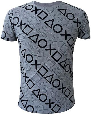 T SHIRT  PLAYSTATION taglia L  APPAREL OFFICIALLY LICENSED