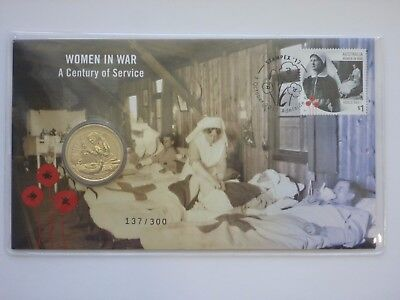 Women in War PNC - Stampex 2017 - 7 October 2017 - Only 100 issued per day!