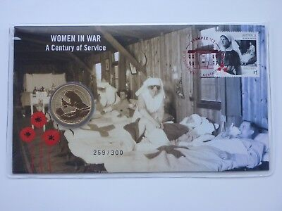 Women in War PNC - Stampex 2017 - 8 October 2017 - Only 100 issued per day!