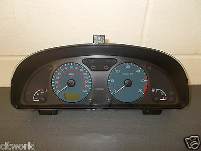 Genuine Citroen Xsara Mk2 Complete Speedo Head