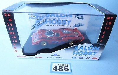 Salon Del Hobby 1:32 Scale 96023 Ferrari 512S Codalunga Racing Car Boxed #486B