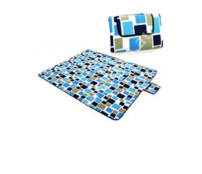 2mx2m Large Picnic Blanket Outdoor Camping Rug Carpet Felts Cashmere Waterproof
