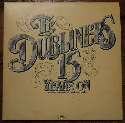 The Dubliners - 15 Years On (1977 Double LP. 2683 070)