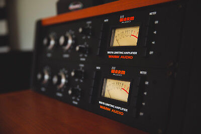 Warm Audio Stereo Pair Compressor and Limiter
