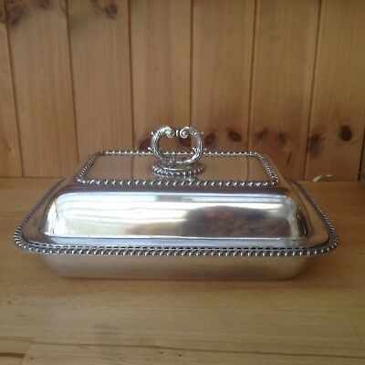 Vintage Silver Plated Tureen/Serving Dish