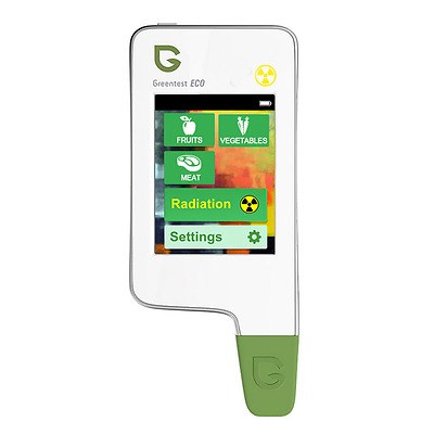 2in1 Greentest Eco Portable Nitrate Tester + Radiation Detector