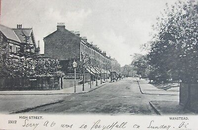 Tranquil High Street Wanstead Essex 1904 Pc