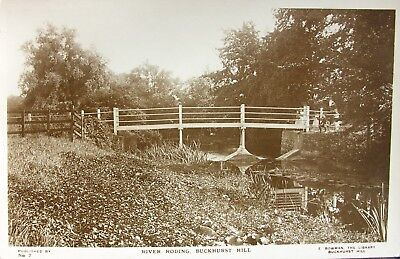 The River Roding At Buckhurst Hill Essex Early Rp Pc