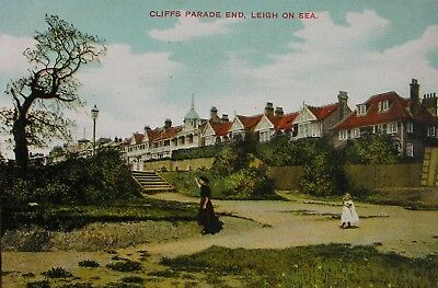 Edwardians At Cliffs Parade End Leigh On Sea Essex Early Pc