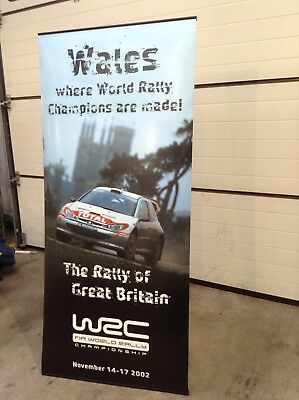 WRC Wales Rally GB Rally Promotional Banner