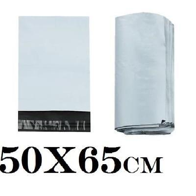 10 Large Mailing Bags Poly Post Postal 50x65 Plastic Self Seal Mail Parcel 2813