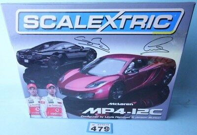 Scalextric 3171A Mclaren Mp4-12C 2 Car Box Set Limited Edition Boxed #479B