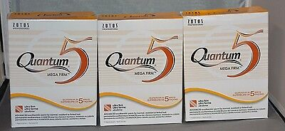 Quantum 5 Mega Firm Exothermic Perm (3 Pk) - No Dryer Heat Required - Color Safe
