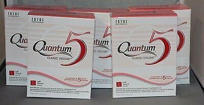 Quantum 5 Classic Volume Acid Perm (5 Pk) Creates Soft Body and Supportive Waves