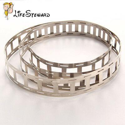 0.15*27mm 1M Pure Ni Plate Battery Nickel Strip Tape For 18650 Battery Welding