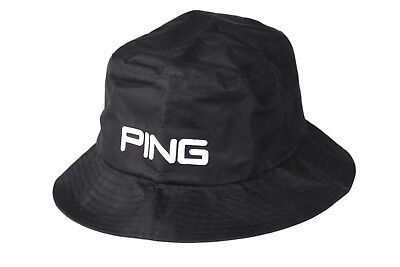 Ping Waterproof Bucket Hat Size S/M in Black Brand New