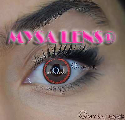 Crazy Coloured Contact Lenses Kontaktlinsen color contact lens Hellraiser
