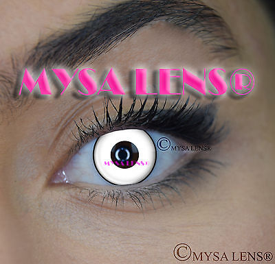 Crazy Coloured Contact Lenses Kontaktlinsen color contact lens White Manson