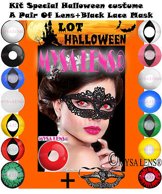 Crazy Coloured Contact Lenses Kontaktlinsen Color Contact Halloween disguises