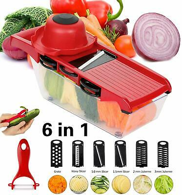 Mandoline Slicer Set Vegetables Fruits Mandolin Cutter Piece Straight Julienne