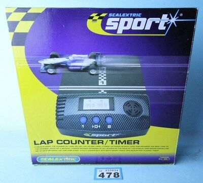Scalextric Sport C8215 Lap Counter / Timer Boxed #478B