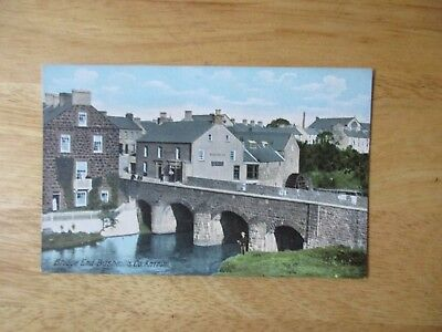 vintage postcard * Bridge End Bushmills, Co. Antrim * unposted early1900s