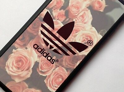 Pastel Floral Pink Roses Design Adidas Logo Phone Case for iPhone 6/6S