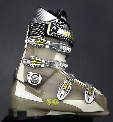 Used Once.  HEAD S9 Ski Boots Size 8 Mondo 27.0