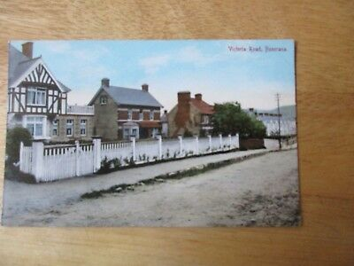 vintage postcard * Victoria Road, Buncrana, Co. Donegal * unposted  early1900s