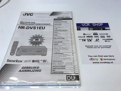 Manual: JVC HR-DVS1EU - NL