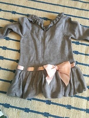 Janine And Jack Dress 3-6 Months Grey Baby Girl
