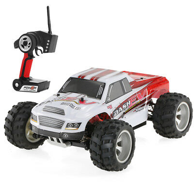 Pop WLtoys A979-B 2.4G 1/18 4WD 70KM/h High Speed Electric RTR Truck RC Car Gift