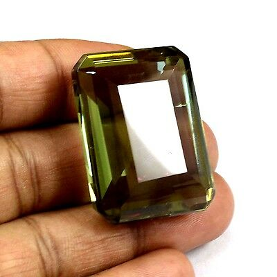 EGL Certified  106.55  Ct Charming Emerald Cut Color Changing Alexandrite Gems