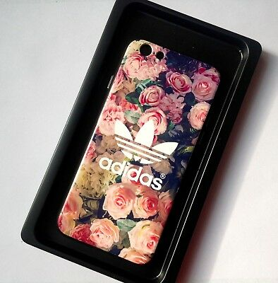 Floral Pink Roses Design Adidas Logo Phone Case for iPhone 6Plus/6SPlus
