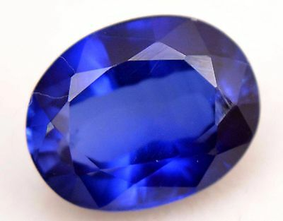 VVS 7.55 Ct Natural Ceylon Royal Blue Sapphire AGSL Certified Oval AAA+ Gemstone