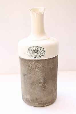 Unique Old Delphin Austria Made Water Filter Ceramic Bottle Collectible NH2906