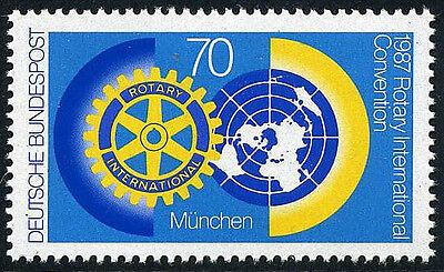 Germany 1511, MNH. Rotary Intl. Convention, 1987