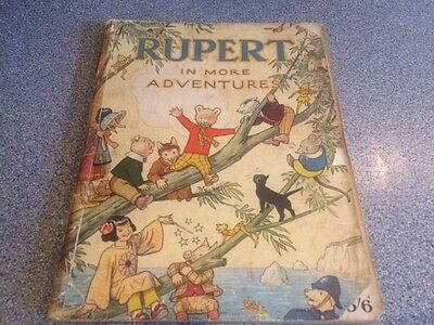 RUPERT 1944 VINTAGE ANNUAL - Classic - Unclipped