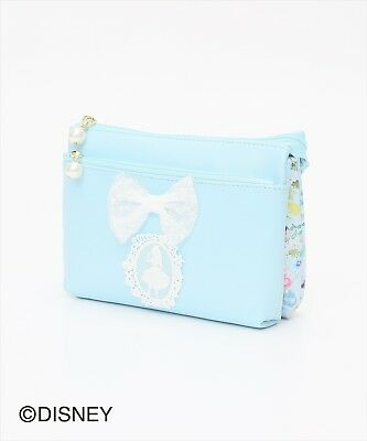 Afternoon Tea x ALICE IN WONDERLAND Disney Collection Double Pouch NEW Japan F/S