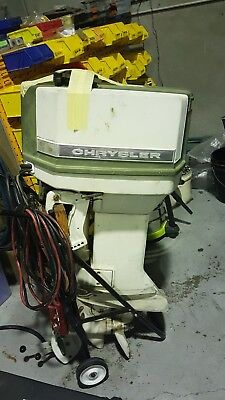 Chrysler Outboard Motor 55hp