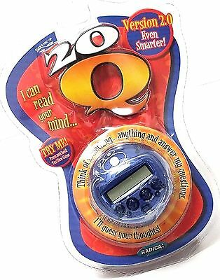 20Q Version 2.0 Even Smarter I Can Read Your Mind by Mattel Inc Radica Blue