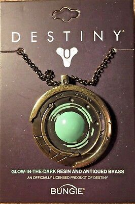Destiny 2 Strange Coin Medallion - Brass And Glow Enamel BUNGIE official