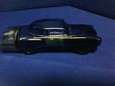 Avon Studebaker '51 w/ Spicy After Shave Blue Glass Car Decanter Vintage 1975